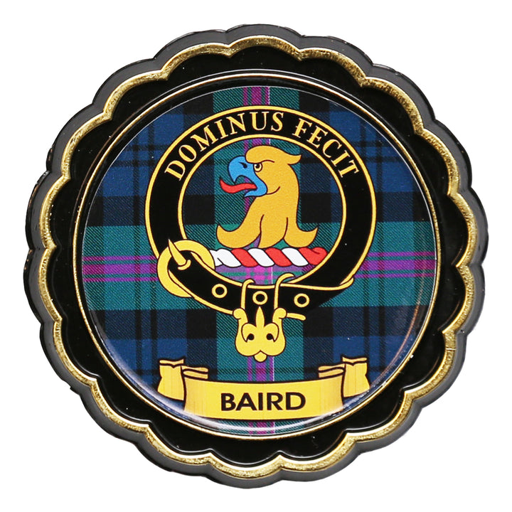 Clan Crest Fridge Magnet - Baird