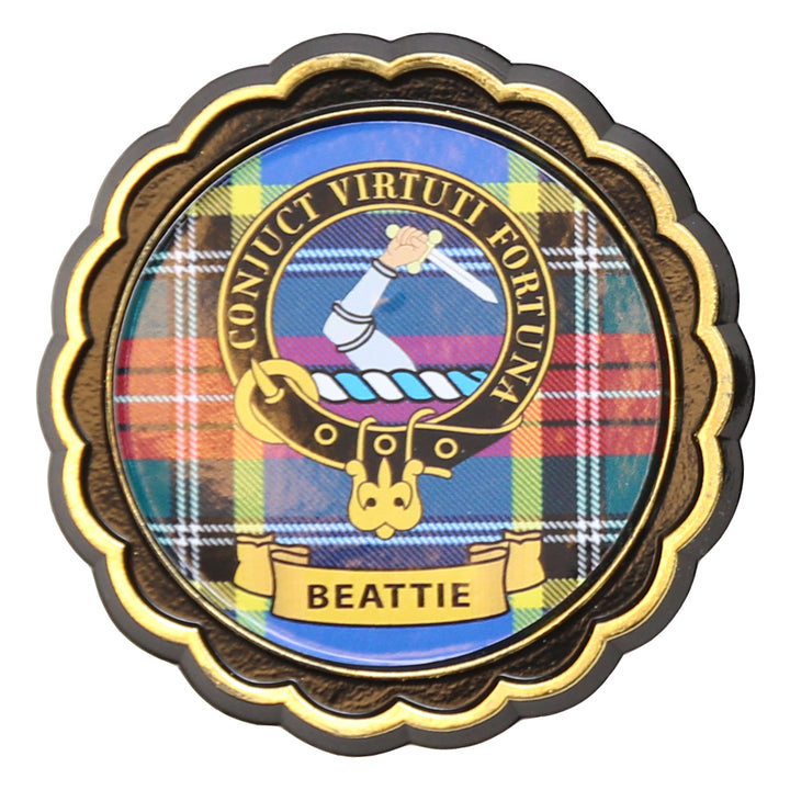 Clan Crest Fridge Magnet - Beattie