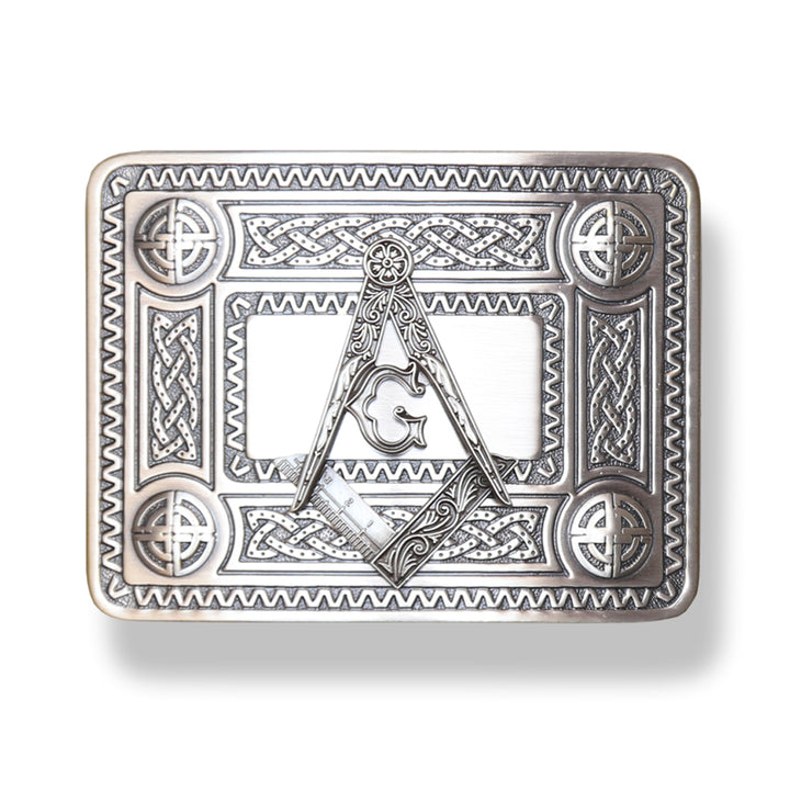 Belt Buckle, Masonic Antique
