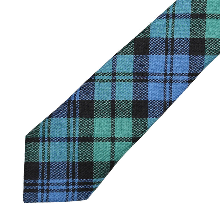 Men's Tartan Tie - Black Watch Ancient