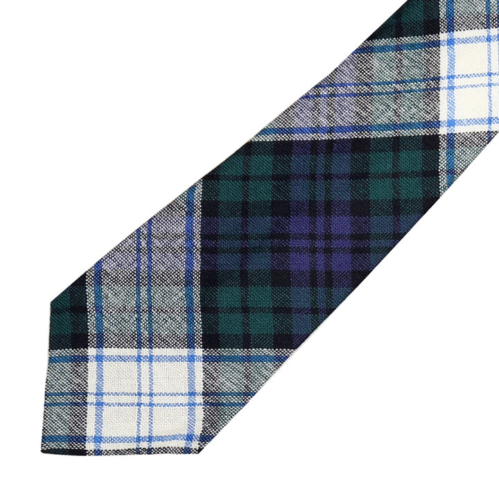 Men's Tartan Tie - Black Watch Dress Modern