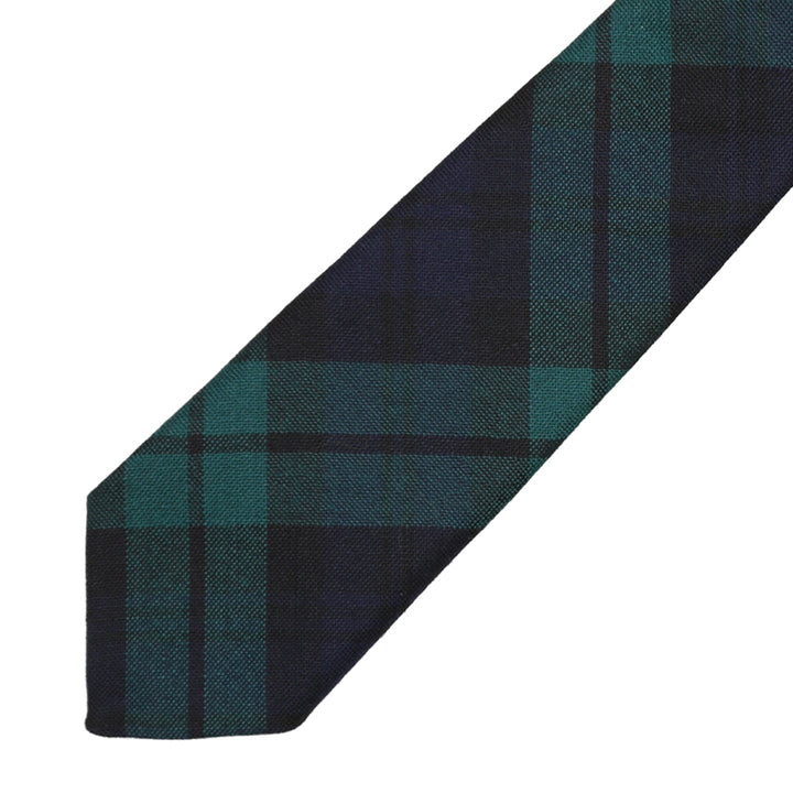 Men's Tartan Tie - Black Watch Modern