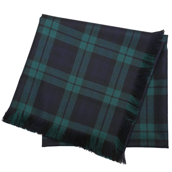 Tartan Shawl - Black Watch Modern
