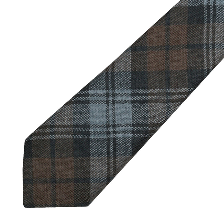 Men's Tartan Tie - Black Watch Weathered