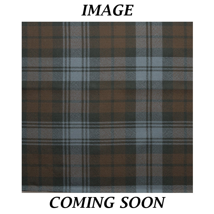 Tartan Shawl - Black Watch Weathered