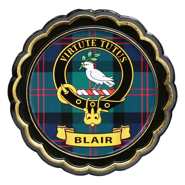Clan Crest Fridge Magnet - Blair