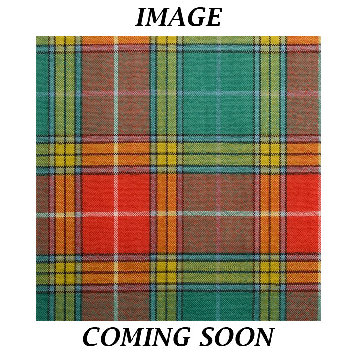 Fine Weight Tartan Scarf - Buchanan Old Setting Ancient