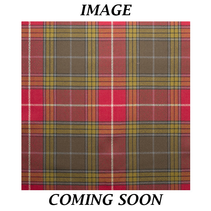 Fine Weight Tartan Scarf - Buchanan Old Setting Weathered