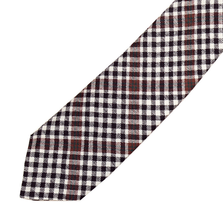 Men's Tartan Tie - Burns Check Modern