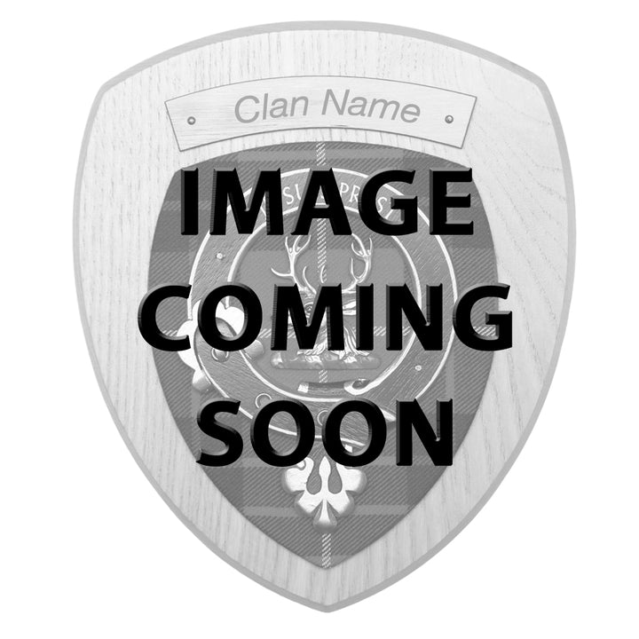 Clan Crest Wall Plaque - Clark