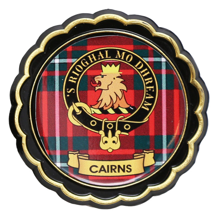 Clan Crest Fridge Magnet - Cairns