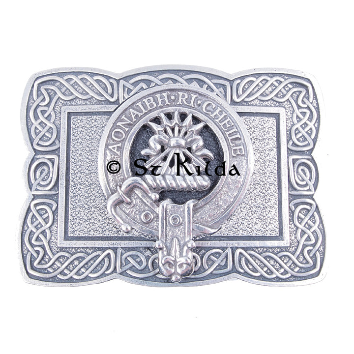 Clan Crest Belt Buckle - Cameron