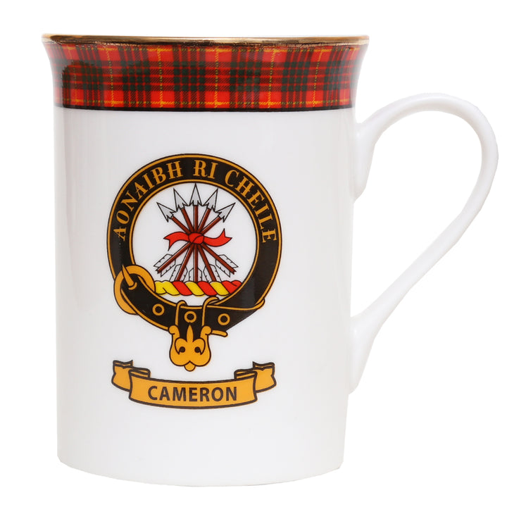 Clan Crest China Mug - Cameron