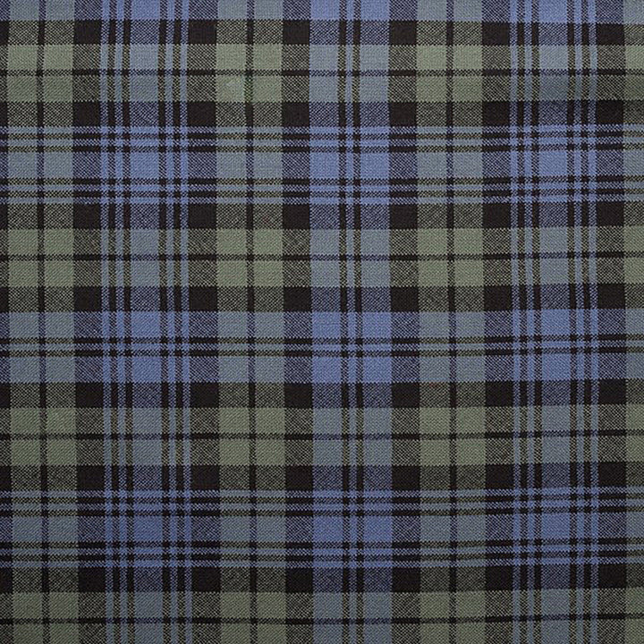 Campbell Faded Weathered Tartan