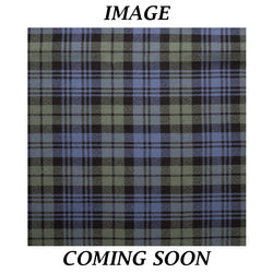 Fine Weight Tartan Scarf - Campbell Faded Weathered