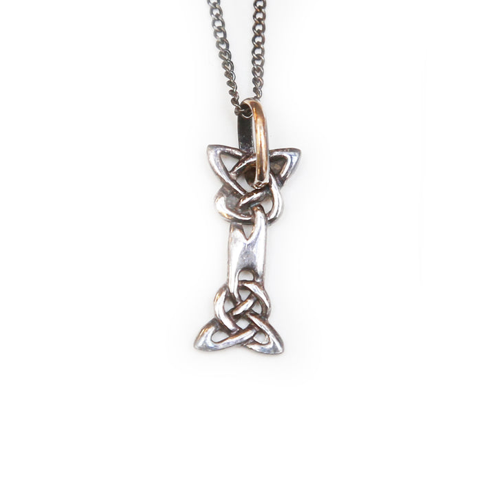 Celtic Initial Necklace - I