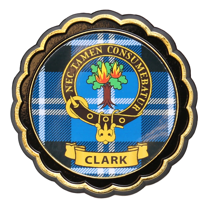 Clan Crest Fridge Magnet - Clark
