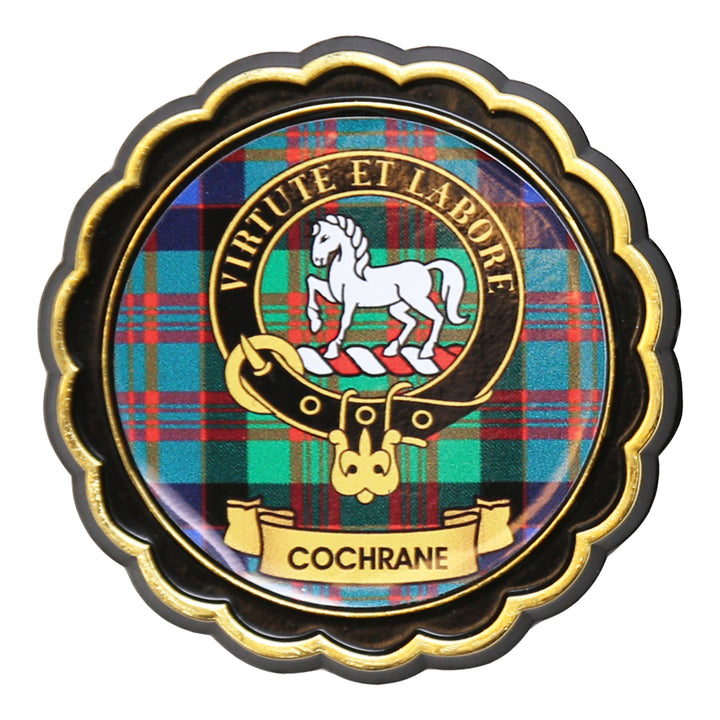 Clan Crest Fridge Magnet - Cochrane