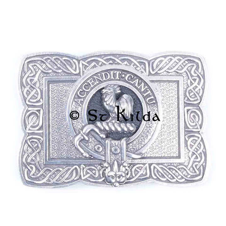 Clan Crest Belt Buckle - Cockburn