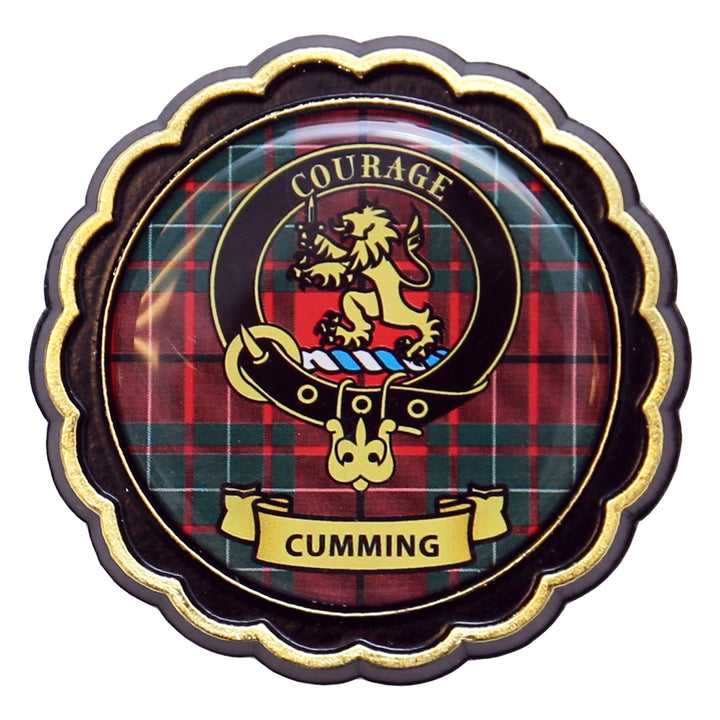 Clan Crest Fridge Magnet - Cumming
