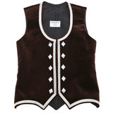 Custom Small Brown Highland Vest