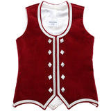 Custom Small Cranberry Highland Vest