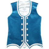Custom Small Dark Turquoise Highland Vest
