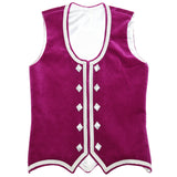 Custom Small Fuchsia Highland Vest
