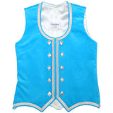 Custom Small Light Turquoise Highland Vest