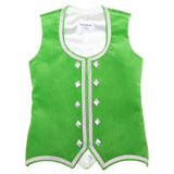 Custom Small Lime Green Highland Vest