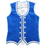 Custom Small Medium Blue Highland Vest
