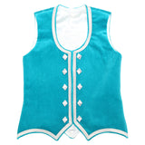 Custom Small Mint Highland Vest