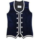 Custom Small Navy Blue Highland Vest