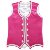 Custom Small Raspberry Highland Vest