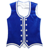 Custom Small Royal Blue Highland Vest