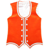 Custom Small Tangerine Highland Vest