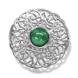 National Brooch - 3 Inches (Green)