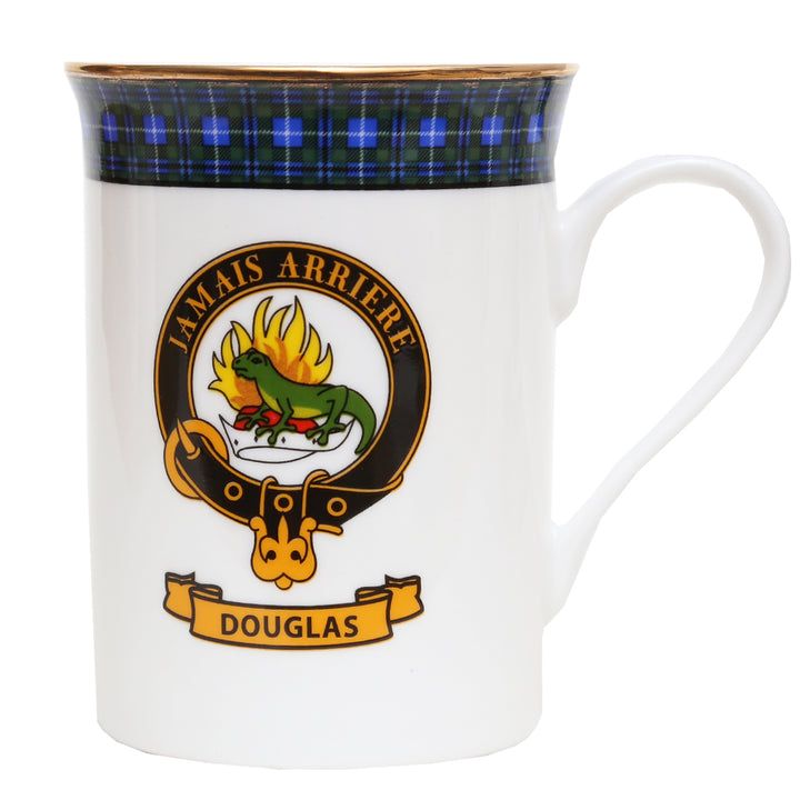 Clan Crest China Mug - Douglas