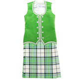 Dress Lime McKellar Kiltie Outfit
