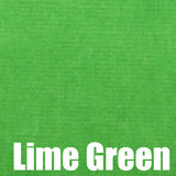 Dress Lime McKellar Lime Green Velvet