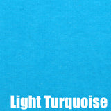 Dress Turquoise McRae of Conchra Light Turquoise Velvet
