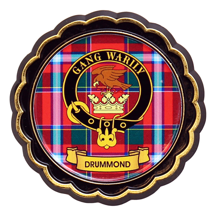 Clan Crest Fridge Magnet - Drummond
