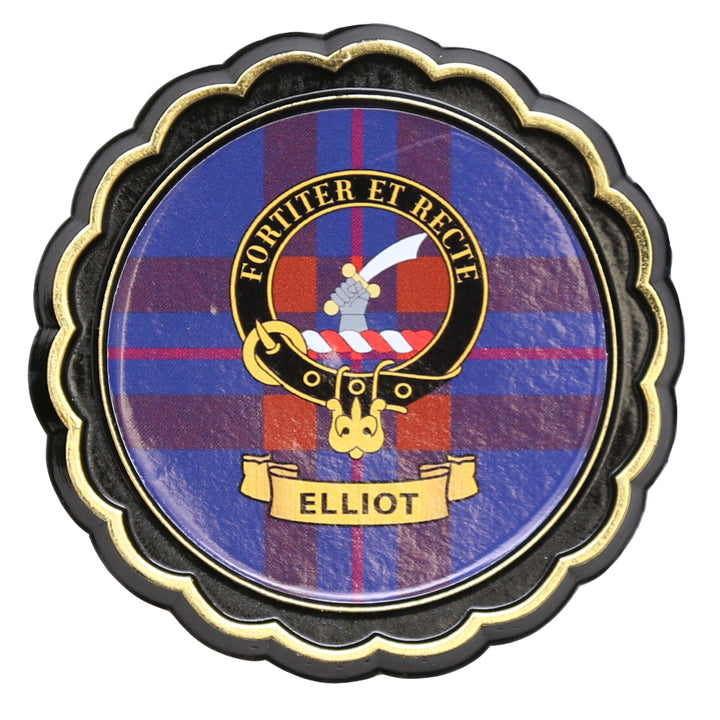 Clan Crest Fridge Magnet - Elliot