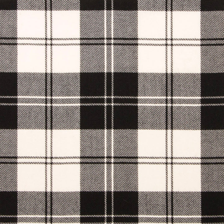 Erskine Black and White Tartan