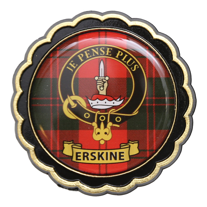 Clan Crest Fridge Magnet - Erskine