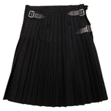 Ex Rental Black Kilt Back