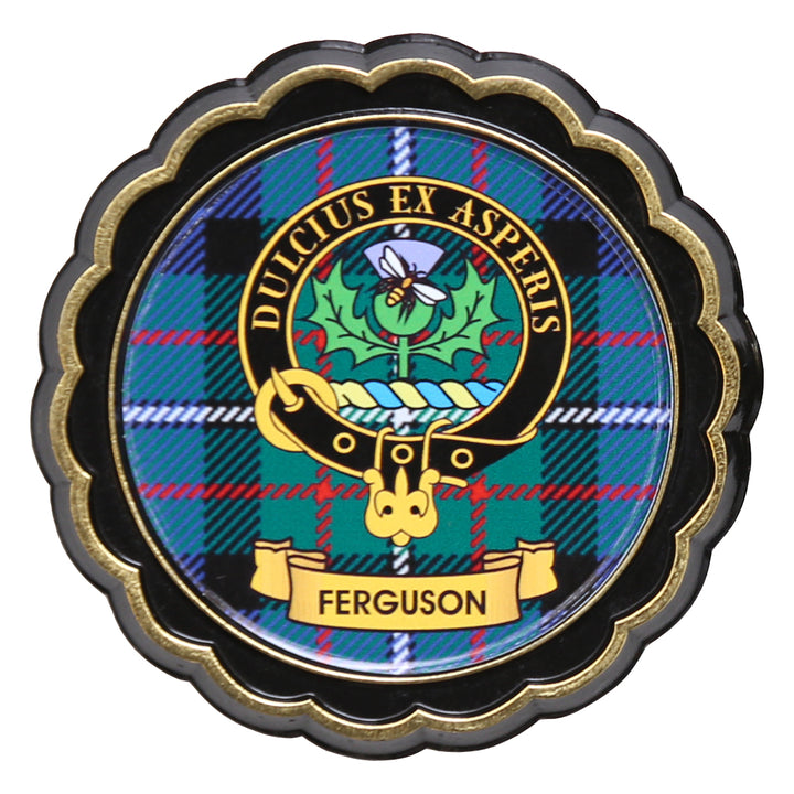 Clan Crest Fridge Magnet - Ferguson