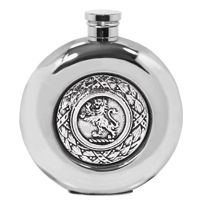 Flask - Pewter Celtic Lion