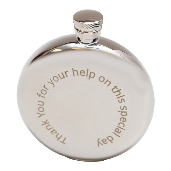 Flask Engraved