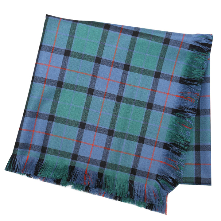 Tartan Shawl - Flower of Scotland